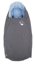 Детский спальный мешок CuddleCo Comfi Extreme Sinosaur Fun, синий/серый, 90 см