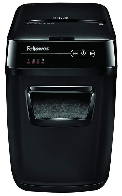 Уничтожитель бумаг Fellowes AutoMax 200C, 4 x 38 mm