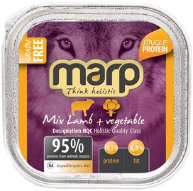 Marp Lamb With Vegetables Holistic 100g