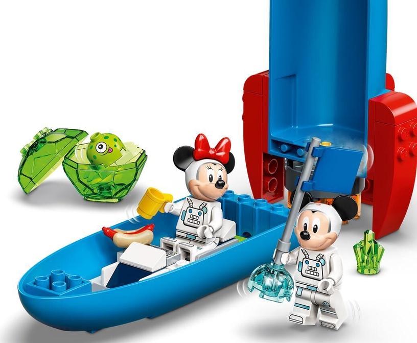 Конструктор LEGO Mickey and Friends Космическая ракета Микки и Минни 10774, 88 шт.
