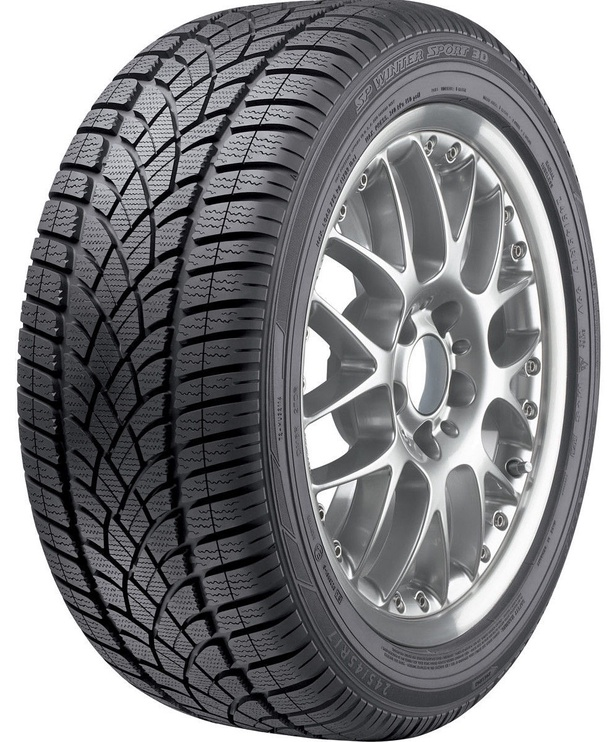 Žieminė automobilio padanga Dunlop SP Winter Sport 3D, 275/35 R20 102 W XL