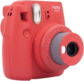 Fujifilm Instax Mini 9 Poppy Red + Instax Mini Glossy