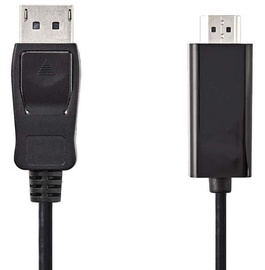 Nedis DisplayPort to HDMI Cable Black 3m