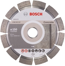 Bosch 2608602557 Concrete Diamond Cutting Disc 150x22.23mm