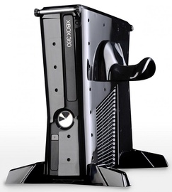 Calibur11 Base Vault 3D Armored Gaming Case Villain For Xbox 360 Slim Black