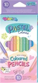 Pastell värvi pliiatsid 10värvi 80813ptr