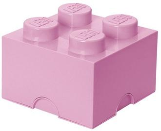 LEGO Storage Brick 4 Knobs Medium Light Purple