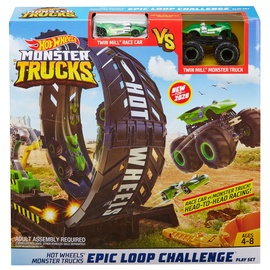 Hot Wheels Monster Truck Epic Loop Challenge Play Set