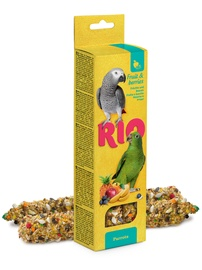 Mealberry Rio Sticks For Parrots Fruit & Berries 2x90g