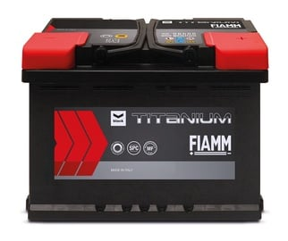 Akumuliatorius Fiamm Black Titanium, 95 Ah, 760 A, 12 V