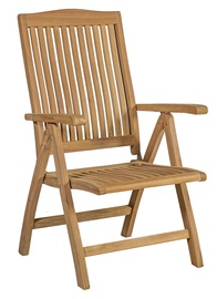 Home4you Rosy Foldable Garden Chair Teak