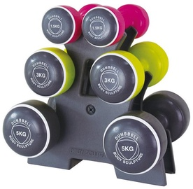 Body Sculpture Dumbbell Set BW108T 19kg