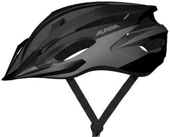 Šalmas Alpina MTB17 9719 3 35, juodas/pilkas, 580 - 610 mm