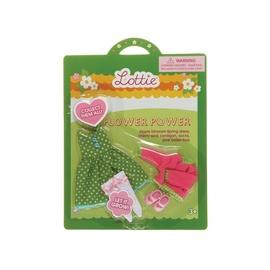 Žaislinės lėlės aprangos komplektas Lottie LT060