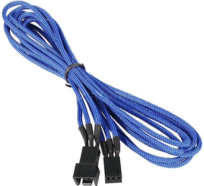 BitFenix 3-Pin Extension Cable 90cm Blue/Black