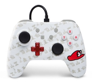 Игровой контроллер PowerA Wired Controller Super Mario Odyssey Edition