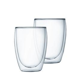 Dvigubo stiklo stiklinės Amber Chef, 350 ml, 2 vnt.