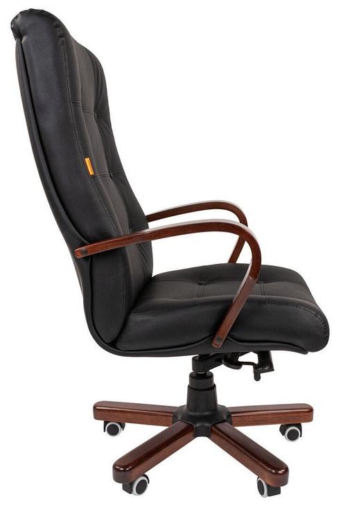 Офисный стул Chairman 424 WD, коричневый/черный