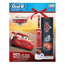 Elektrinis dantų šepetėlis Braun Oral-B Kids Cars D100.413.2K