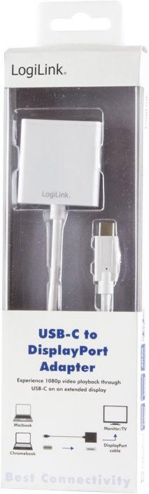 LogiLink USB-C 3.1 To DisplayPort Adapter