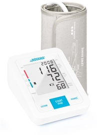 Novama Upper Arm Blood Pressure Monitor White C