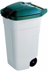 Curver Waste Bin 110l Beige/Green