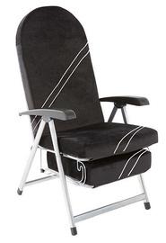 Black Red White Gibraltar Multi-position Chair Black