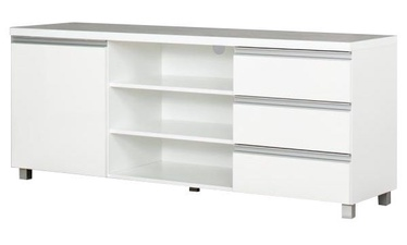 TV galds Bodzio Aga AG35 White, 1600x430x660 mm