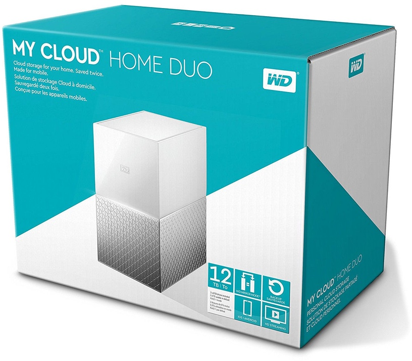 Western Digital My Cloud Home Duo 16TB