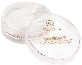 Brīvs pulveris Dermacol Invisible Fixing Powder White, 13 g
