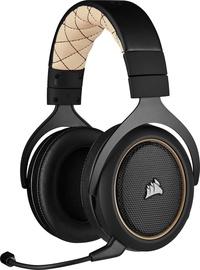 Belaidės ausinės Corsair HS70 PRO Wireless Cream