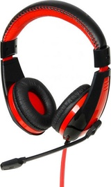 iBOX HPI 1528 MV On-Ear Headset Black/Red