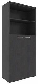 Skyland XTEN Office Cabinet XHC 85.6 Legno Dark