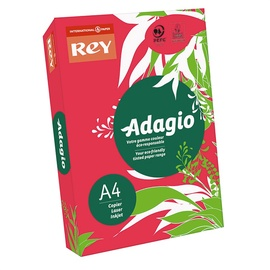 Kopējamais papīrs Adagio A4 / 500L, 80g, sarkans