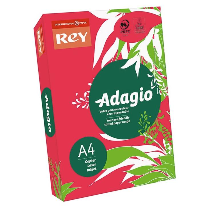 Копировальная бумага Adagio A4 / 500L, 80г, красная