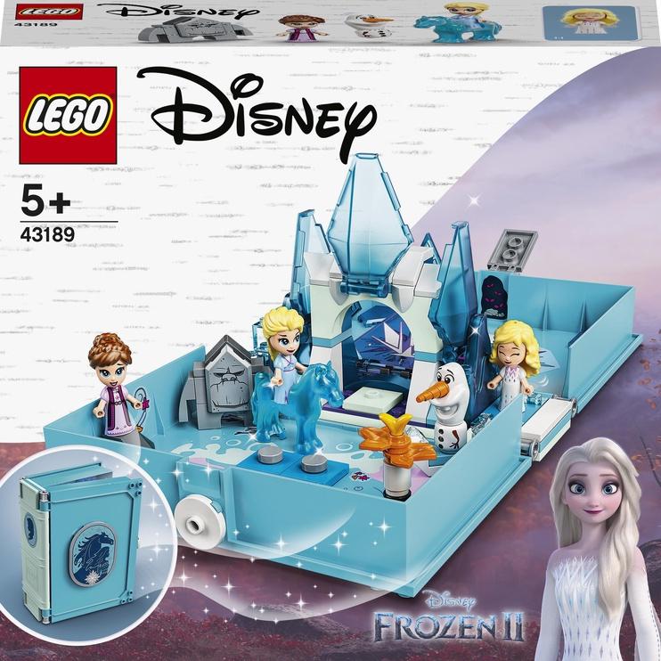 Конструктор LEGO Disney Princess Книга сказочных приключений Эльзы и Нока 43189, 125 шт.