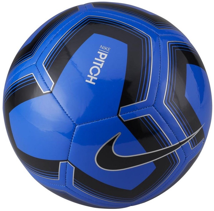 Nike Pitch Training Ball Blue/Black Size 5