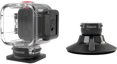 Polaroid Waterproof Case + Suction Mount For Polaroid Cube