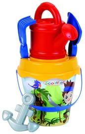 Ecoiffier Beach Bucket Pirate 8/627S