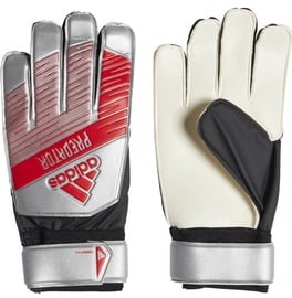 Adidas Predator Training Gloves Silver/Red DY2614 Size 9