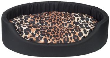 Amiplay Fun Dog Oval Bedding L 58x50x15cm Black