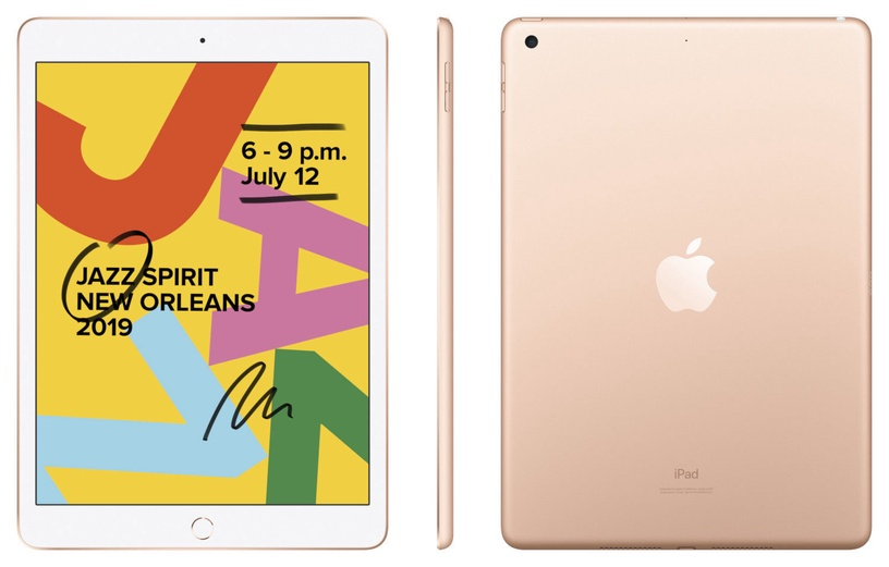 Apple iPad 7th Gen 10.2 128GB WiFi Gold