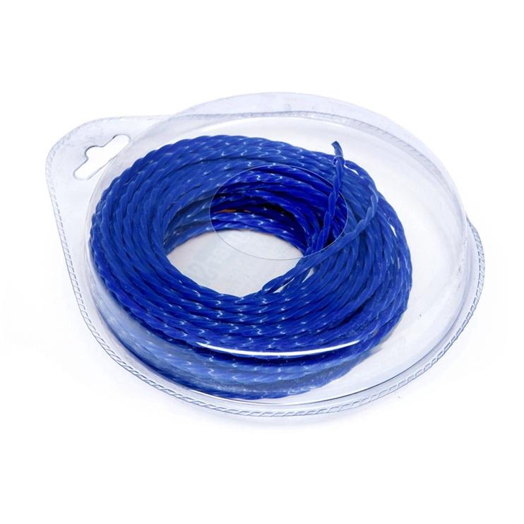 Vagner Trimmer Line 3mm 15m Quad Blue