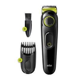 Braun BT3221 Beard Trimmer Black/Green