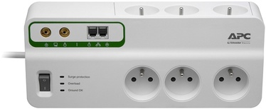 APC SurgeArrest 6 Outlets w/ Phone and Coax Protection