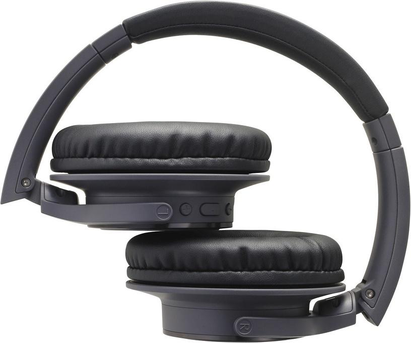 Belaidės ausinės Audio-Technica AT-SR30BT, juodos
