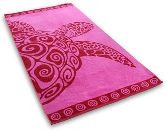 Rätik DecoKing Turtle, roosa, 180 cm x 90 cm