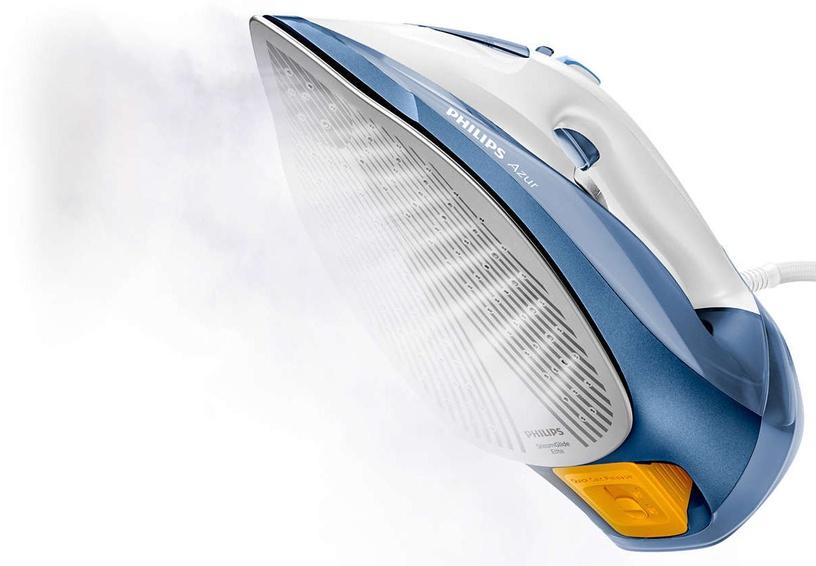 Утюг Philips Azur GC4902/20, синий/белый