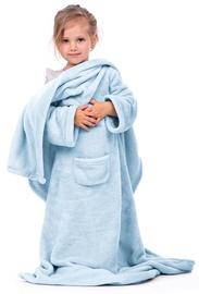 DecoKing Lazy Kids Blanket Light Blue 90x105cm