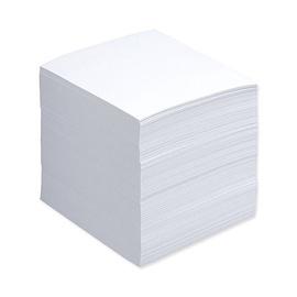 Valged kleepuvad märkmed kiledes 90x90mm. 500 lehte